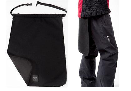 Design Jupe Pare-Neige en Nylon et Polar