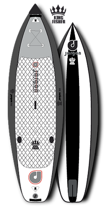 Jargon King Fischer 11.0 PaddleBoard Gonflable Planche à Pagaie