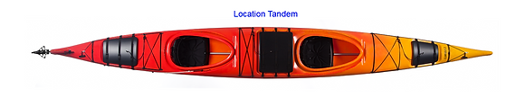 Location - Kayak de mer tandem