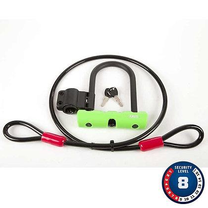 Abus Ultra 410 Mini Cadenas en U et Cable