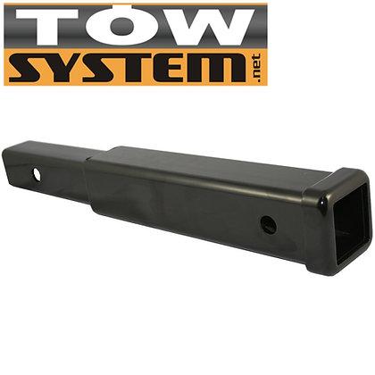 Tow Extension de 2 x 2 x 8 pouces pour Support d`Attelage à Vélos