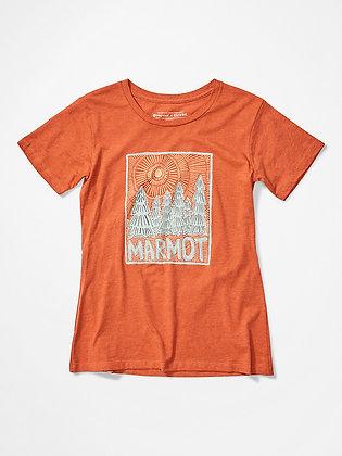 Marmot Woodblock Shirt pour femme