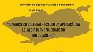 Pesquisa quer saber opinião dos agentes sobre a política cultural no Rio de Janeiro