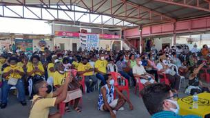 Frente democrática e solidária em ação no Jacarezinho