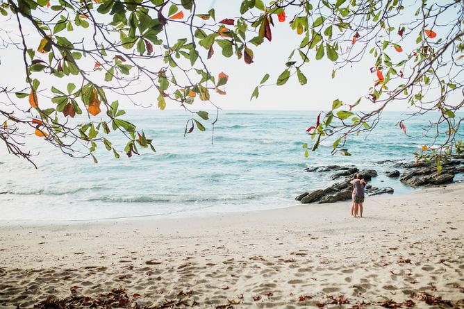 Montezuma beach playa las manchas