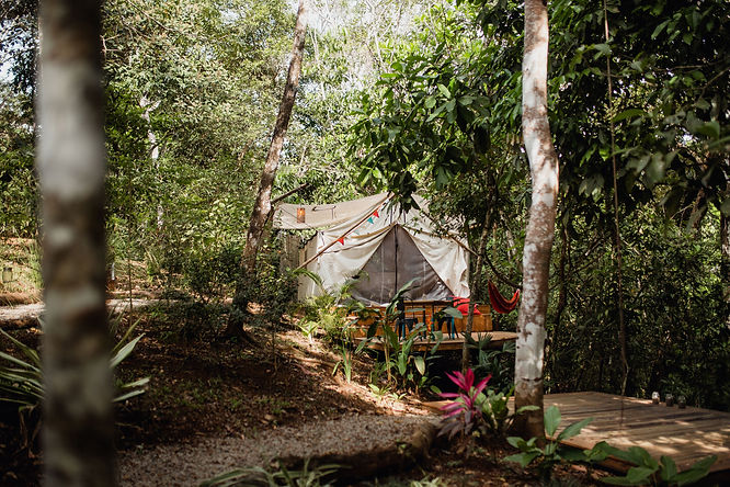 Glamping in Montezuma Costa Rica