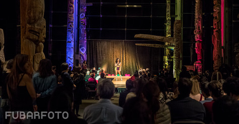 Burlesque Emcee at the Muesuem of Anthropology