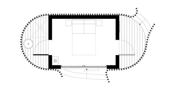 2.7 by 3.3 metre pod