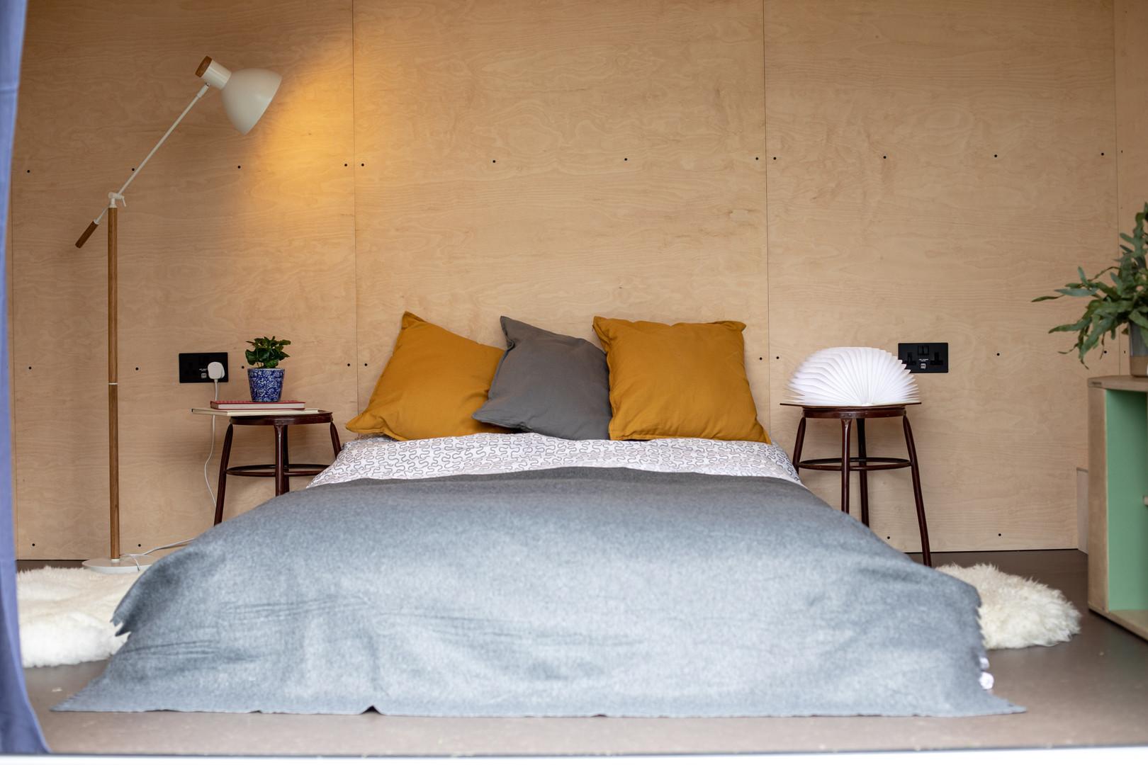 Garden bedroom pod