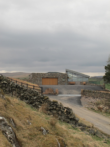 Eco home nestled in the Scottish landscape
