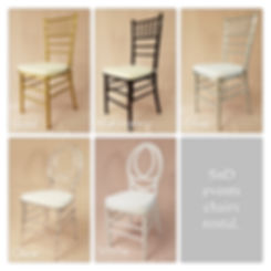 Seattle Chiavari Chairs