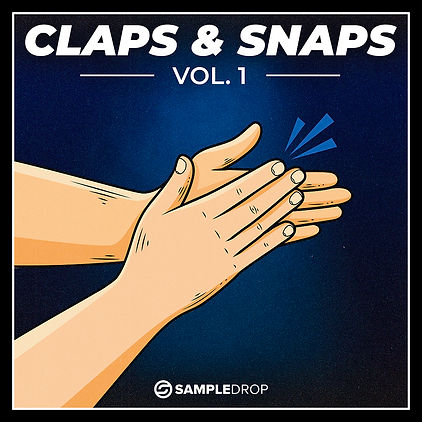 Claps and Snaps by SampleDrop Cover Art.