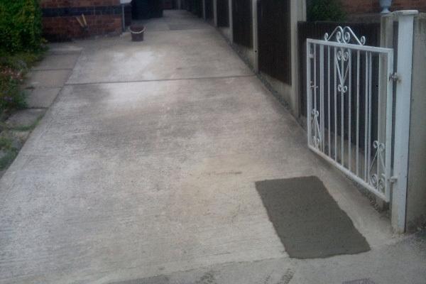 Concrete Drive - After Repair