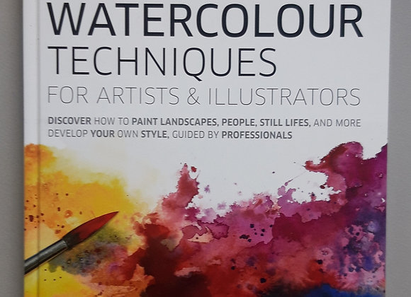 Watercolour Techniques Book