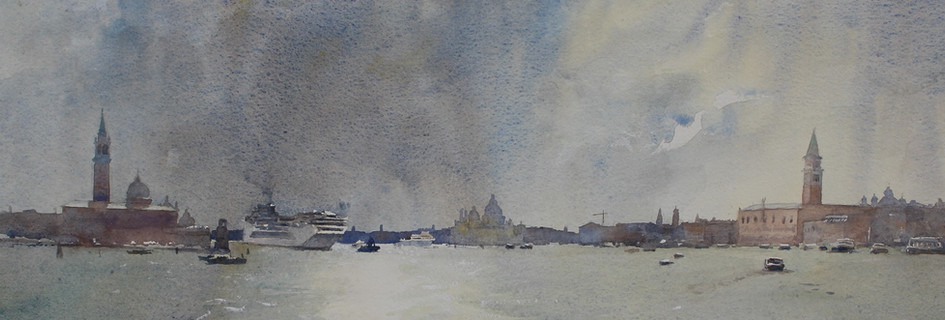 Tempesta Venezia, watercolour