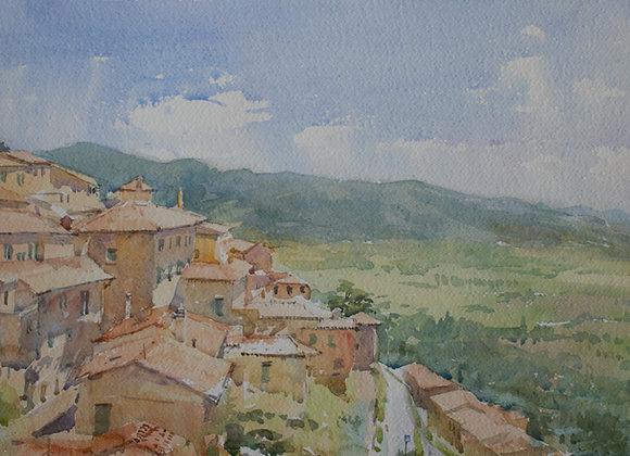View of Cortona