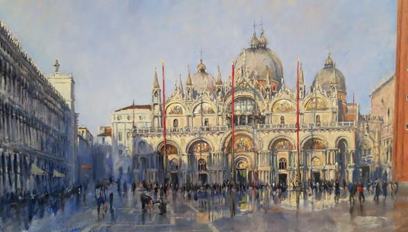 Reflections, San Marco, Venice