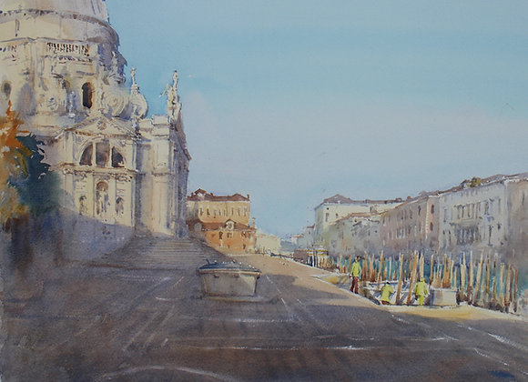 Santa Maria della Salute, Morning Light