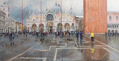 Rainy Venice oil on canvas.jpg