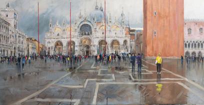 Rainy San Marco, Venice
