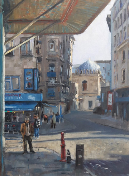 Morning Light, Down Town Istanbul