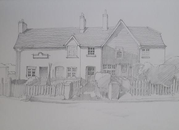 St Katherine's Cottages, Ickleford