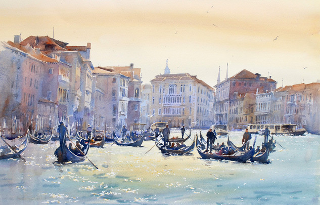 Bright Afternoon, Grand Canal