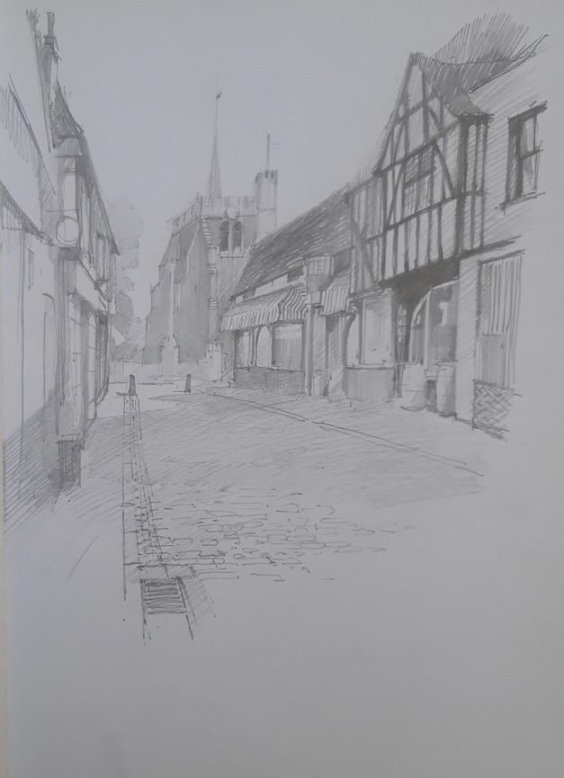 Church Yard, Hitchin