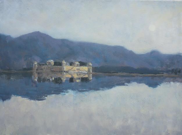 Floating palace Jaipur