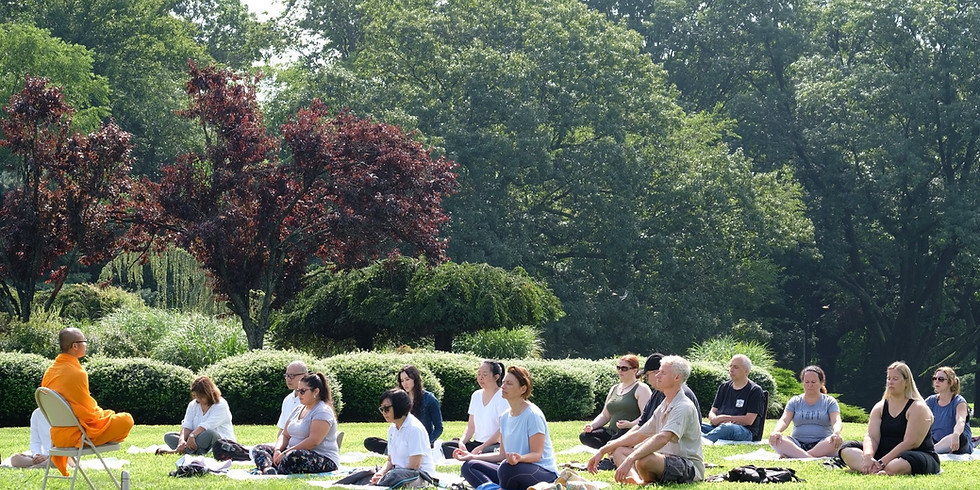 Meditation at Nyack Memorial Park