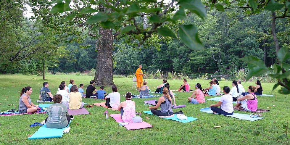 Meditation at Nomahegan Park
