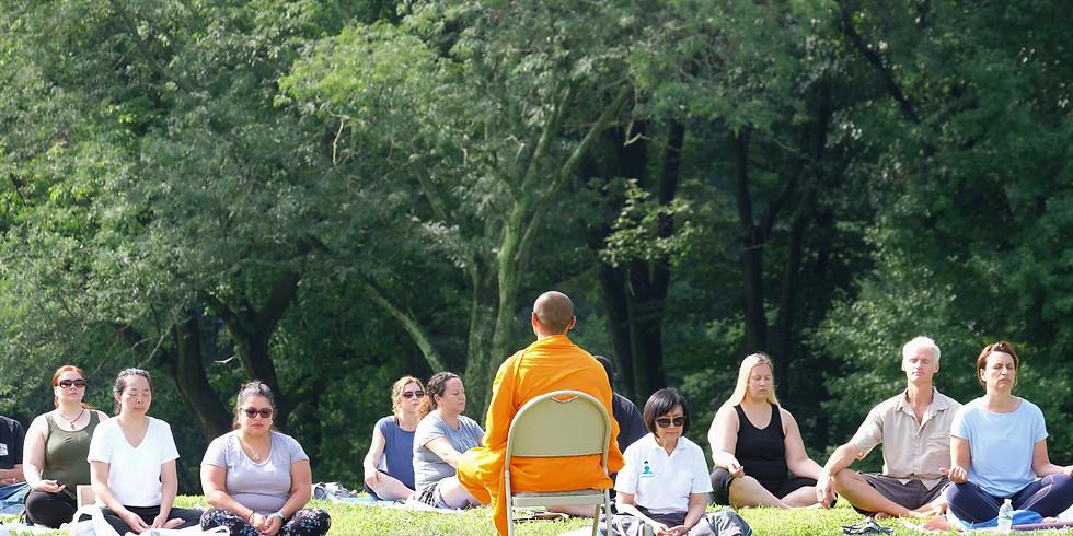 Meditation in Central Park NYC