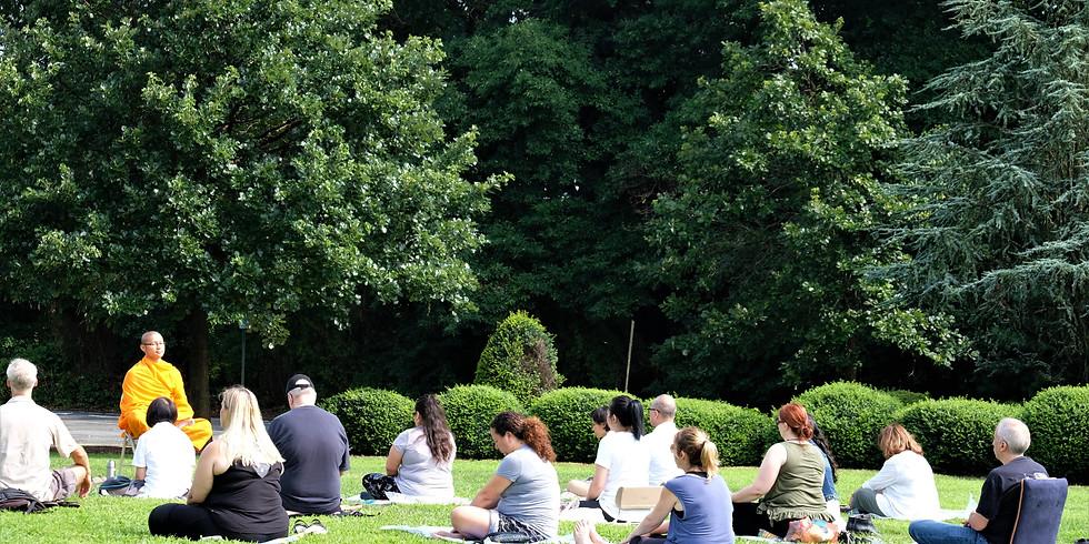 Meditation at Brookdale Park