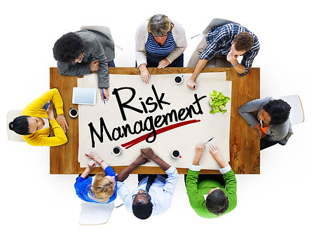 People in a Meeting and Risk Management