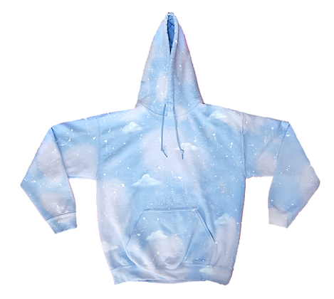 Cotton Candy Clouds Hoodie
