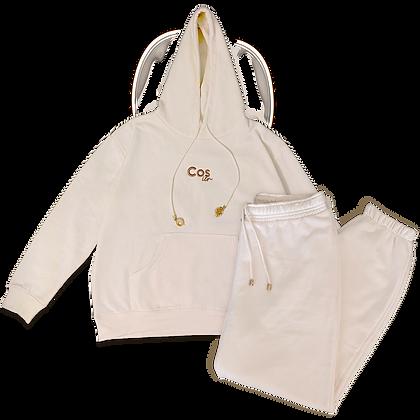 Cream Gemstone Matching Set