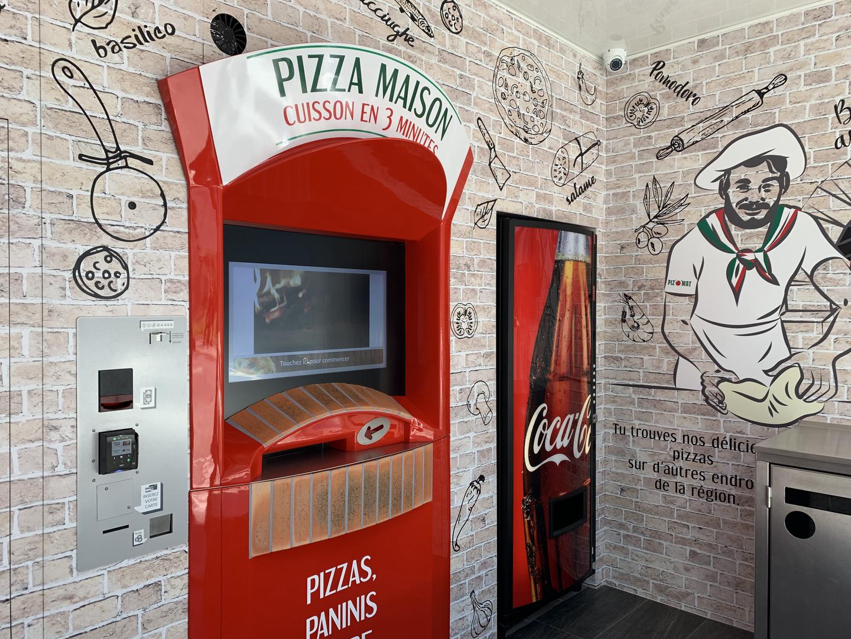 Distributeur à pizzas Piz'o'Mat