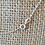 Thumbnail: Sterling Silver Leaf Necklace