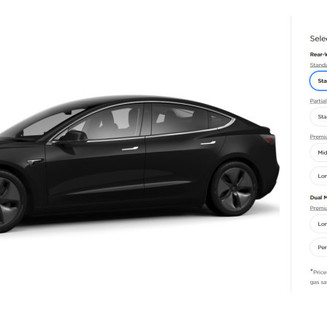Tesla Model 3 平價版終於推出!車價 27 萬得個「睇」字?