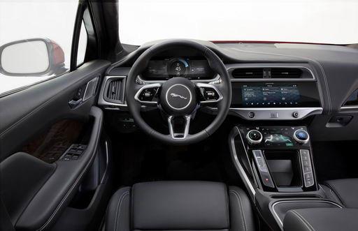 Jaguar I-PACE 中控台設計算科幻嗎?