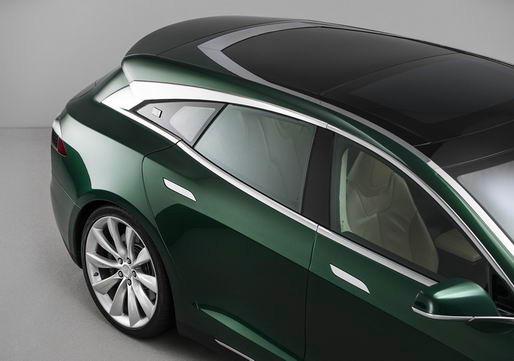 Tesla Model S RemetzCar 旅行版