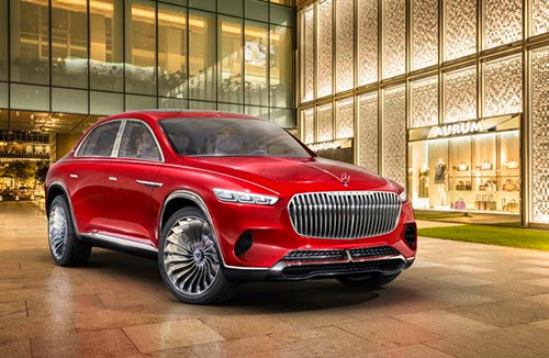 The Vision Mercedes-Maybach Ultimate Luxury