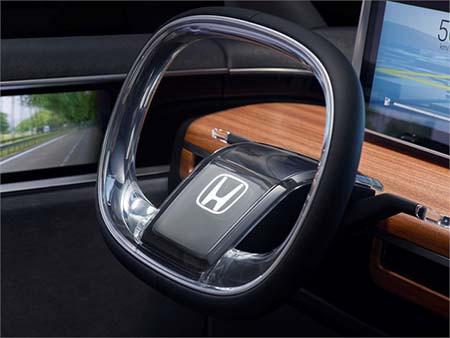 Urban EV Concept 的量產版軚盤,應該會於這個有分別吧!