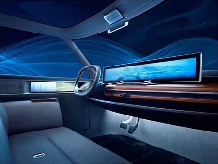 Honda Urban EV Concept 中控台設有大型屏幕。