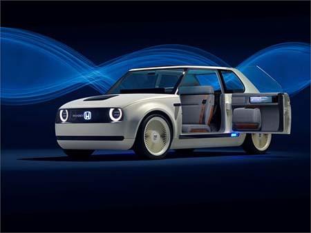 Honda Urban EV Concept 的的式式,有趣有趣!