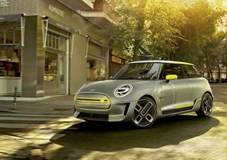 MINI Electric Concept 早於去年法蘭克福車展中亮相。
