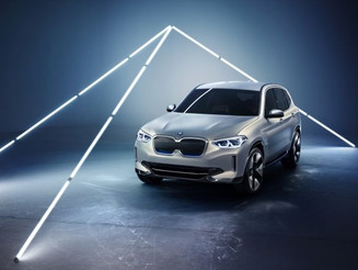 BMW iX3 概念電動車首展!大鼻窿變四眼仔
