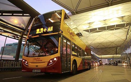 城巴營運的 A11,是其中一條需途經香港口岸一站的路線。