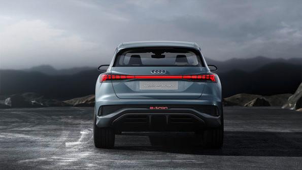 Audi Q4 e-tron concept 從這個角度看,型!