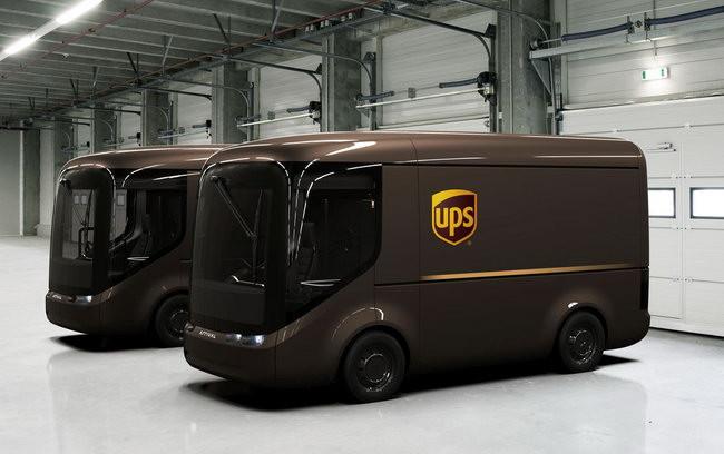 UPS 向 Arrival 訂購了三十多部電動貨車。